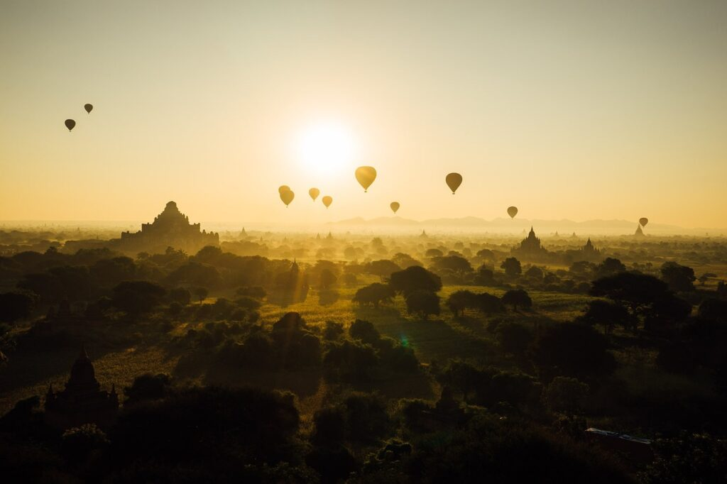 Best pleaces in Myanmar