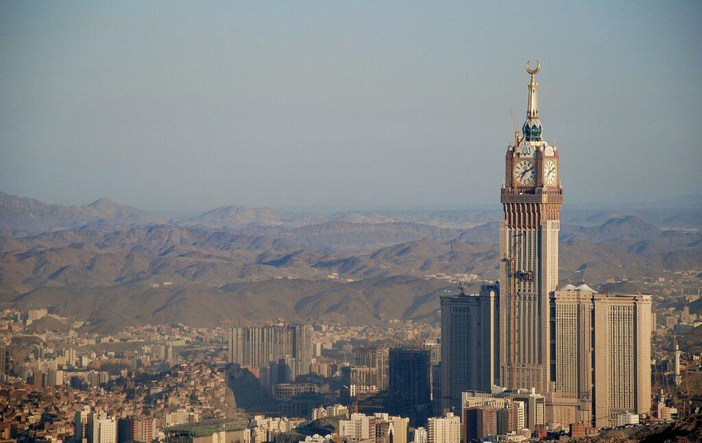 vacation in Saudi Arabia